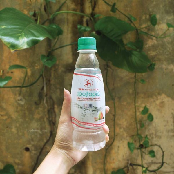 three legs cooltopia cooling water wen ken group guava