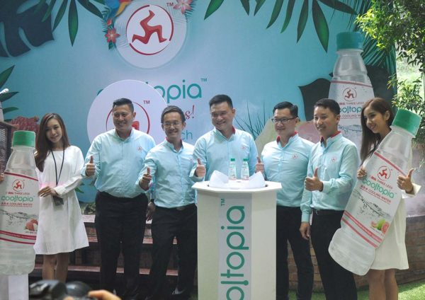 three legs cooltopia cooling water wen ken group launching