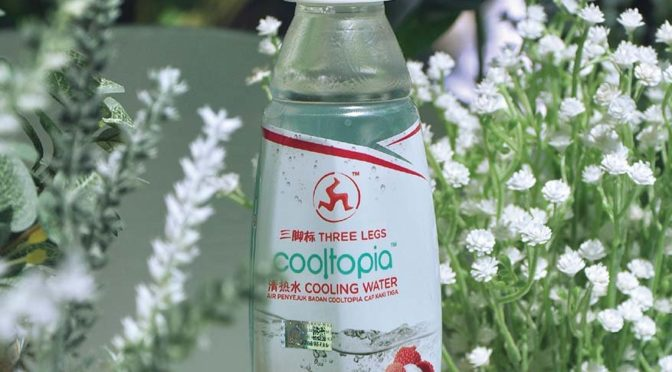 Reduce Body Heatiness with Three Legs Cooltopia Cooling Water