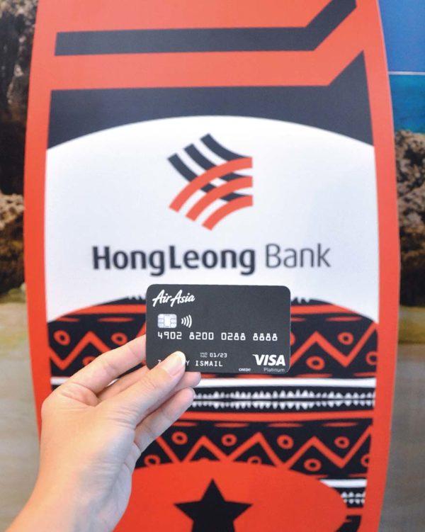 airasia hong leong bank travel credit card platinum
