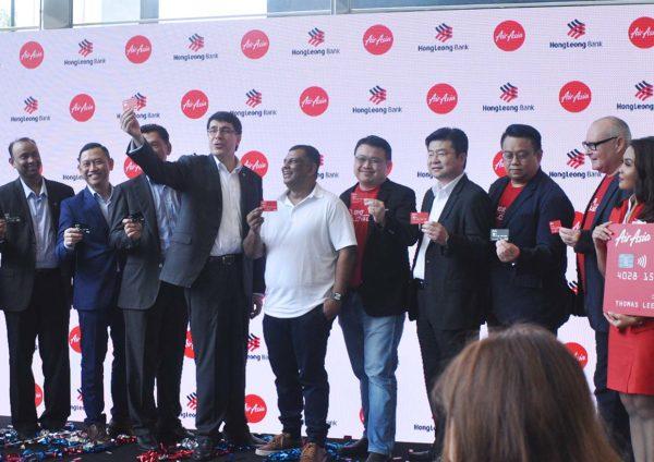 airasia hong leong bank travel credit card group management