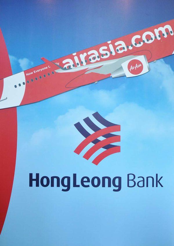 airasia hong leong bank travel credit card free flight