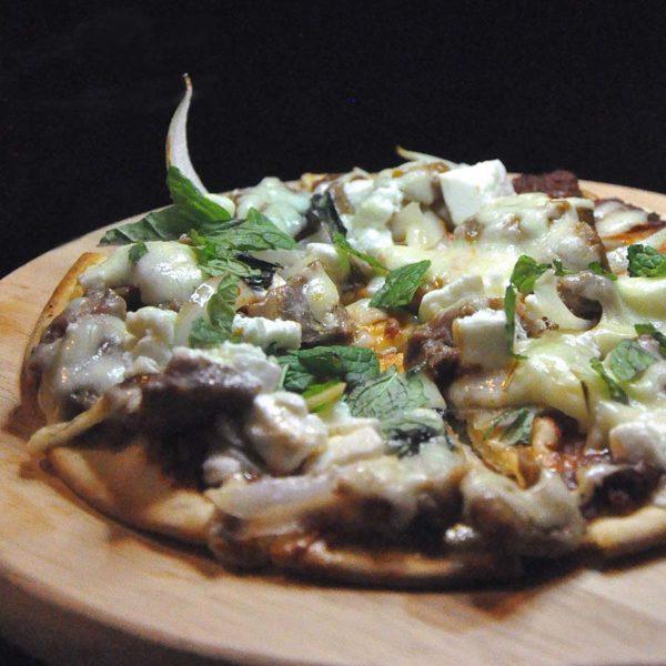ambrosia wine tapas bar taman danau desa kl greek lamb pizza