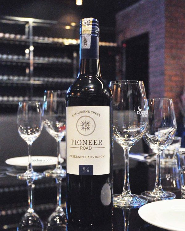 ambrosia wine tapas bar taman danau desa kl pioneer road cabernet sauvignon