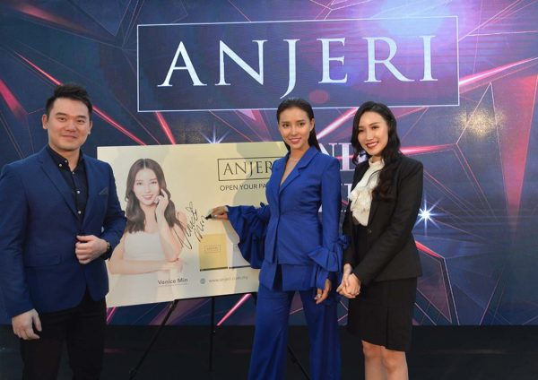 anjeri masks thailand beauty care launching