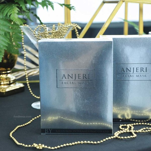 anjeri masks thailand beauty care silver facial mask