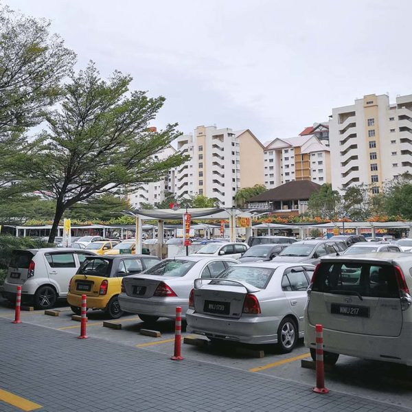 citta mall ara damansara countdown party 2019 open space area