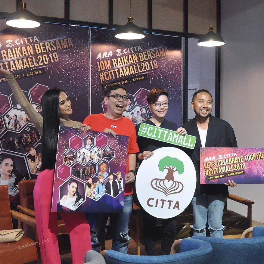 My 2019 Countdown Plan with Friends @ CITTA Mall, Ara Damansara