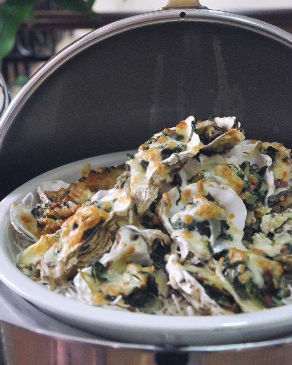 dorsett grand subang gastronomical new year oyster rockerfellar