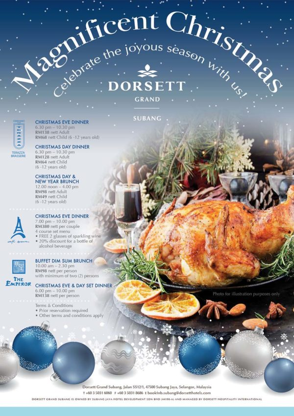 dorsett grand subang magnificent christmas promotion