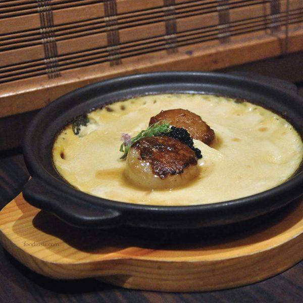 ishin japanese restaurant old klang road baked chawanmushi