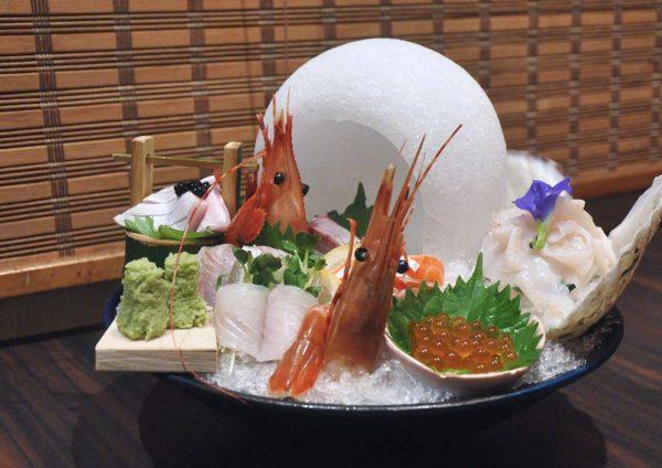 ishin japanese restaurant old klang road chef special premium sashimi