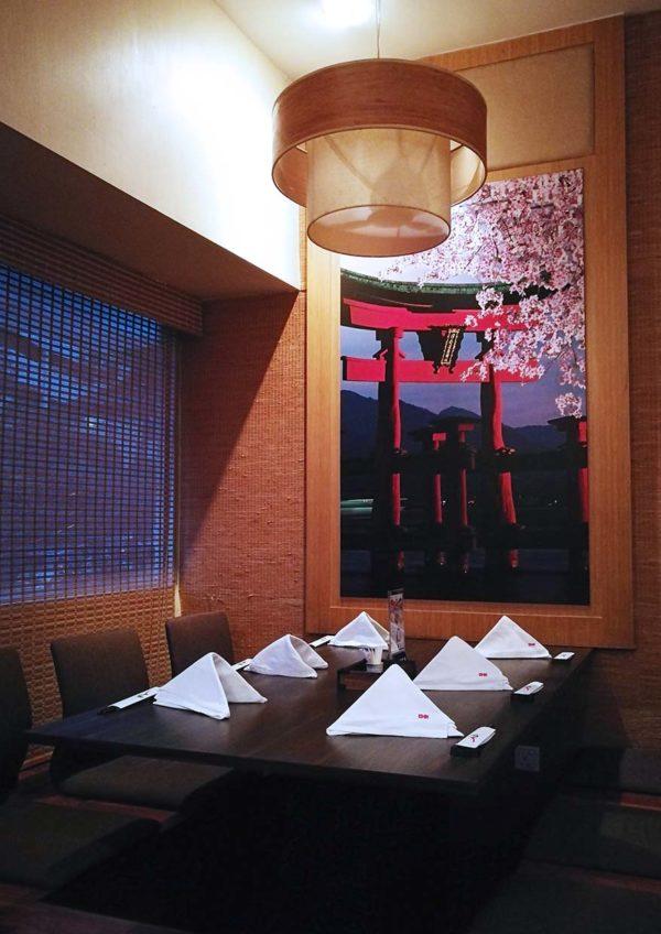 ishin japanese restaurant old klang road interior