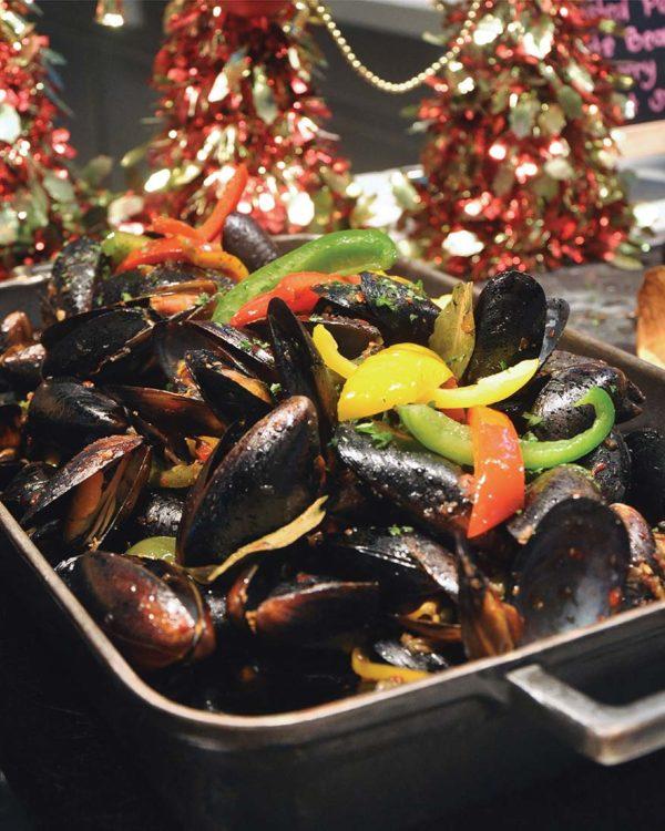 nook aloft kuala lumpur sentral a lofty christmas black mussel