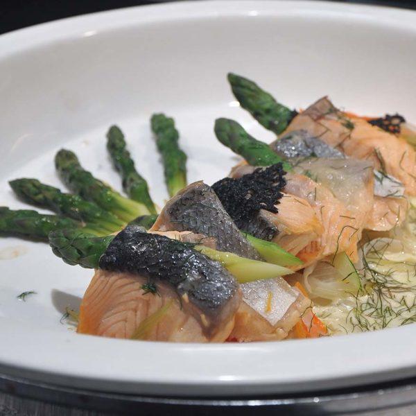 swez brasserie eastin hotel kl christmas buffet poached salmon