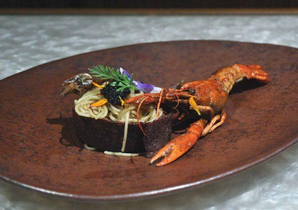 tanzini gtower hotel kuala lumpur christmas set dinner aglio olio