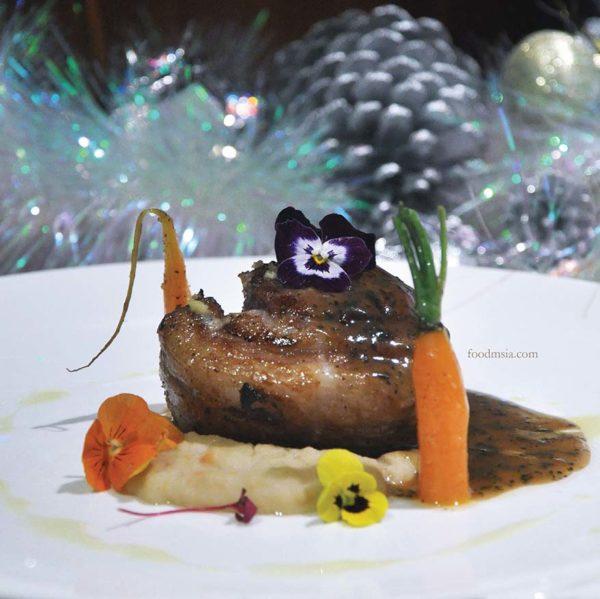 tanzini gtower hotel kuala lumpur christmas set dinner lamb