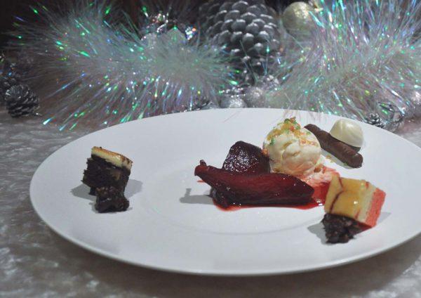 the club gtower hotel kuala lumpur christmas set dinner bandung poach pyrus