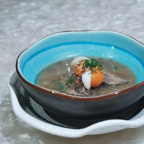 the club gtower hotel kuala lumpur christmas set dinner ox tail soup