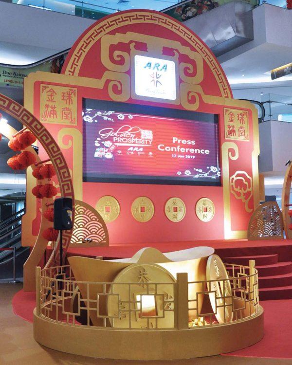 ara golden prosperity chinese new year campaign klang parade