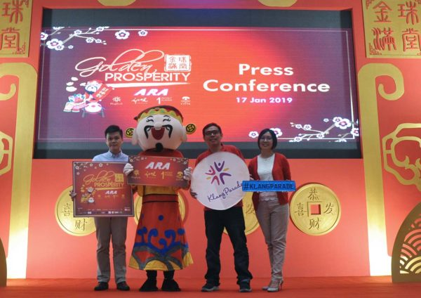 ara golden prosperity chinese new year campaign team