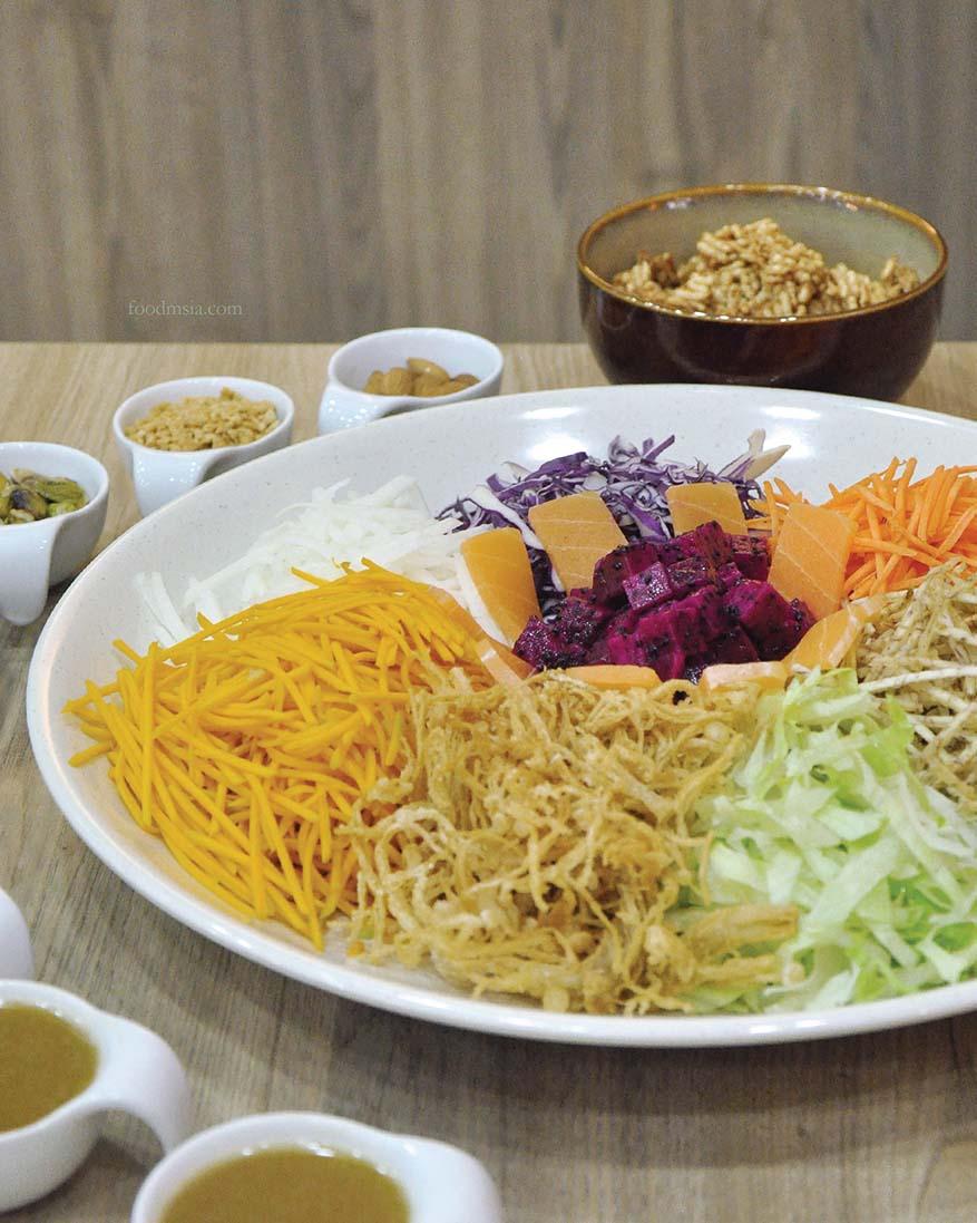 CNY Prosperity Treasure Pot & Healthy Yee Sang @ BMS Organics