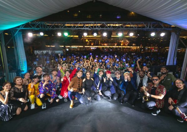 citta mall new year eve countdown party 2019 artists