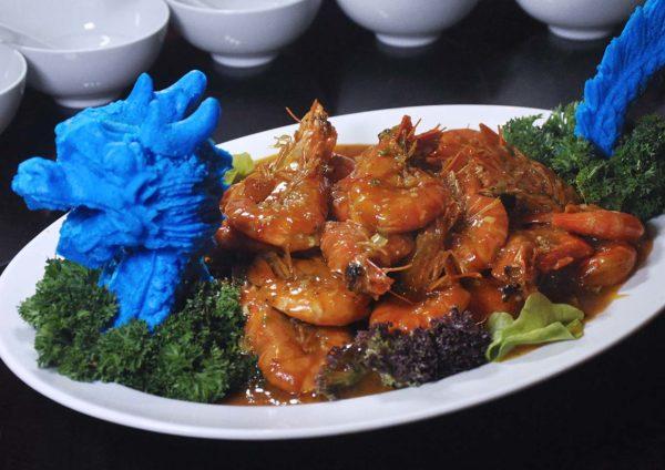 four points by sheraton puchong cny 2019 set menu prawn