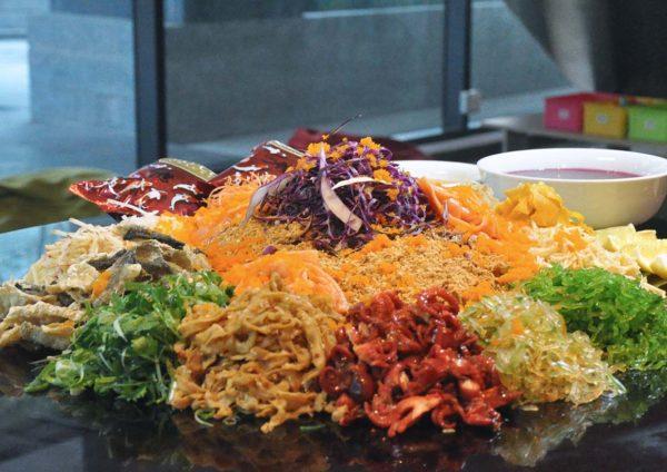 four points by sheraton puchong cny 2019 set menu yee sang