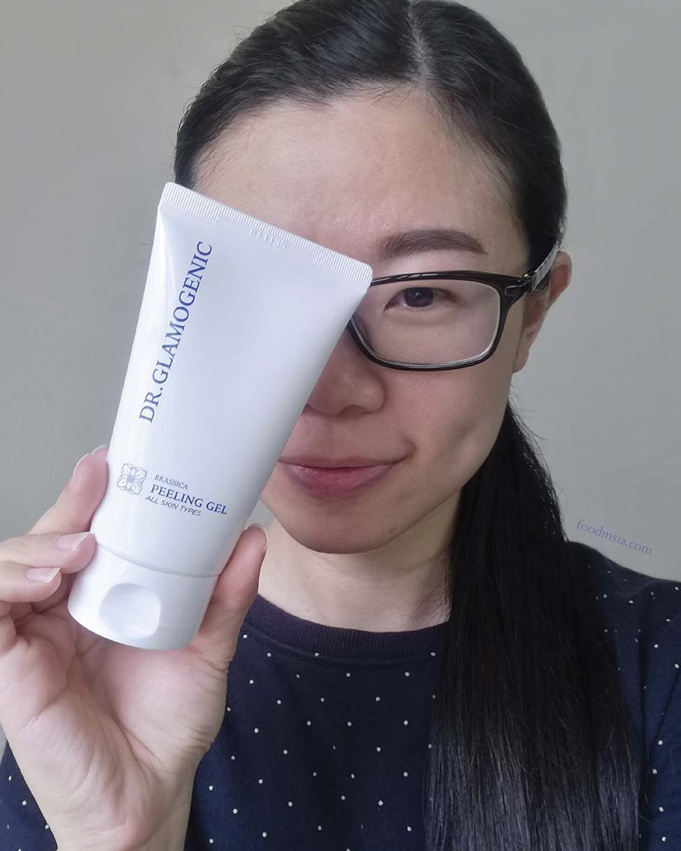 How I Restore Glowing Skin with Brassica Peeling Gel by Glamogenic