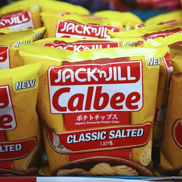 jack n jill calbee potato chips classic salted flavour