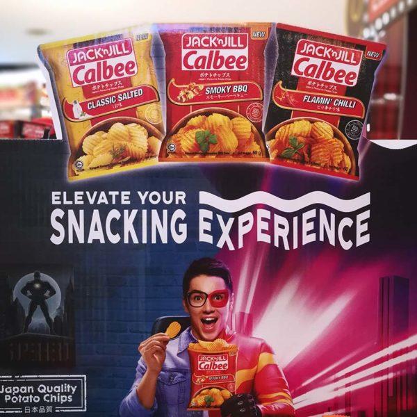 jack n jill calbee potato chips flavours