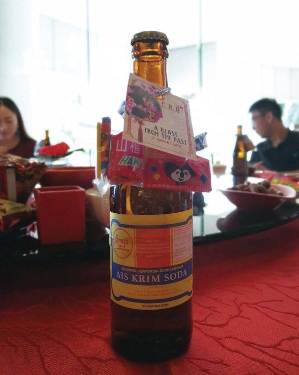 red chinese cuisine pullman klcc cny 2019 ais krim soda