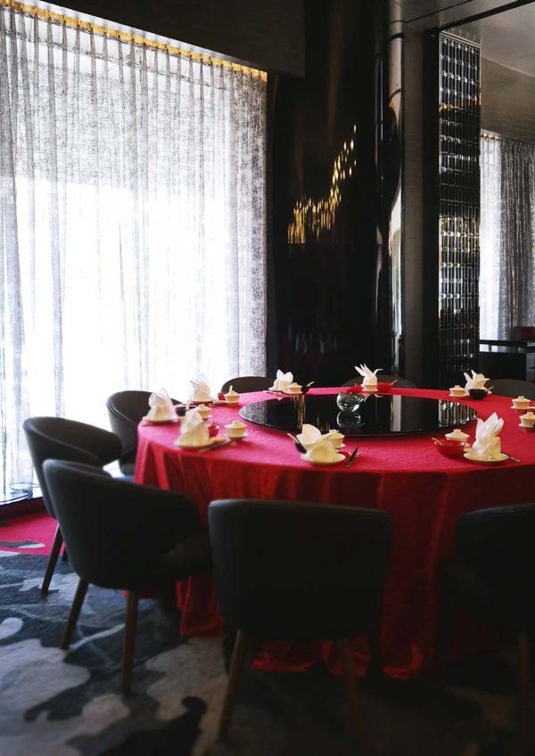red chinese cuisine pullman klcc cny 2019 interior
