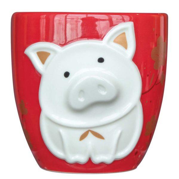 starbucks malaysia cny mug 12oz zodiac pig