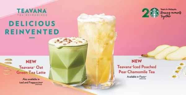 starbucks malaysia cny teavana tea beverages