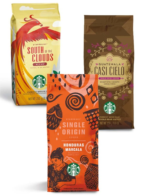 starbucks malaysia cny whole bean coffee