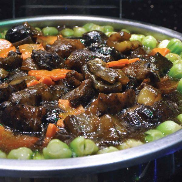 sunway putra hotel kl cny buffet dinner mushroom