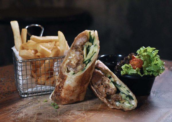 the x bangsar chicken wrap