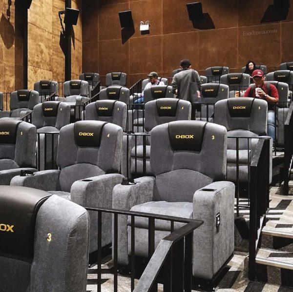 bona cinemas imax gold class d-box hall resorts world genting indulge