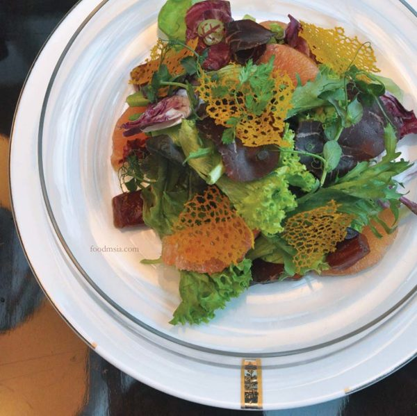 cedar on 15 impiana klcc hotel refresh salad