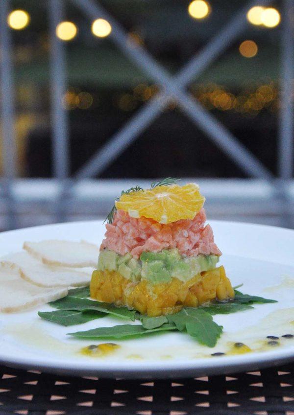 micasa all suite hotel valentines day set menu salmon tartare