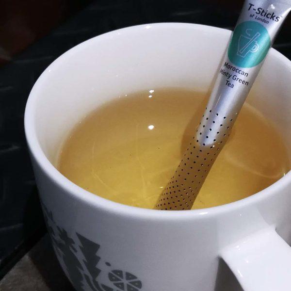 t-sticks innovative tea drinking aluminum foil casing