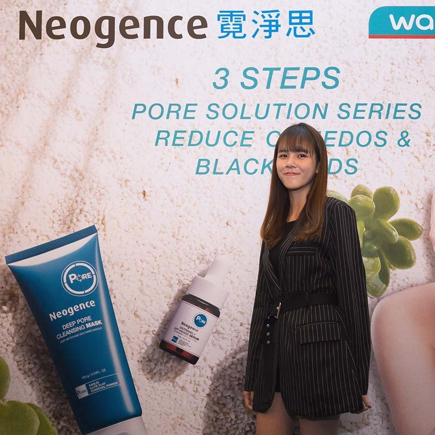 How Malaysian Youtuber Shu Sen Stays Beautiful With Neogence Pore Solution