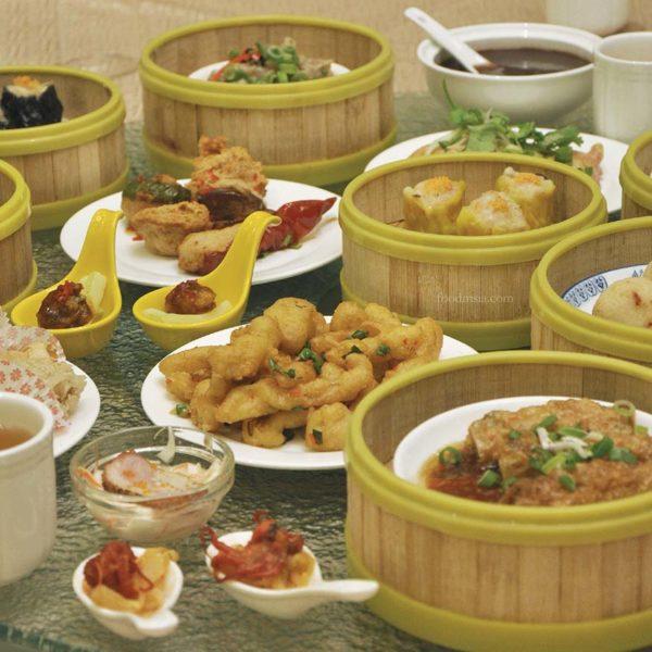 celestial dynasty petaling jaya sunday dim sum buffet lunch varieties