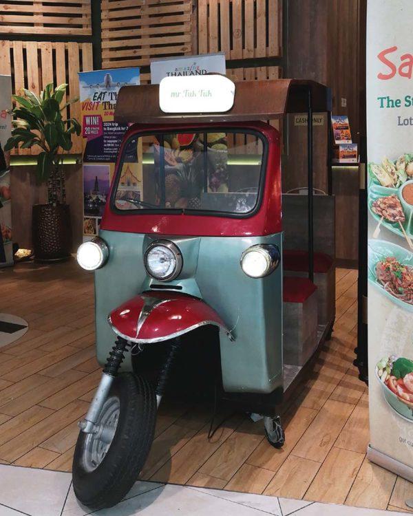 eat thai visit thailand campaign mr tuk tuk bike