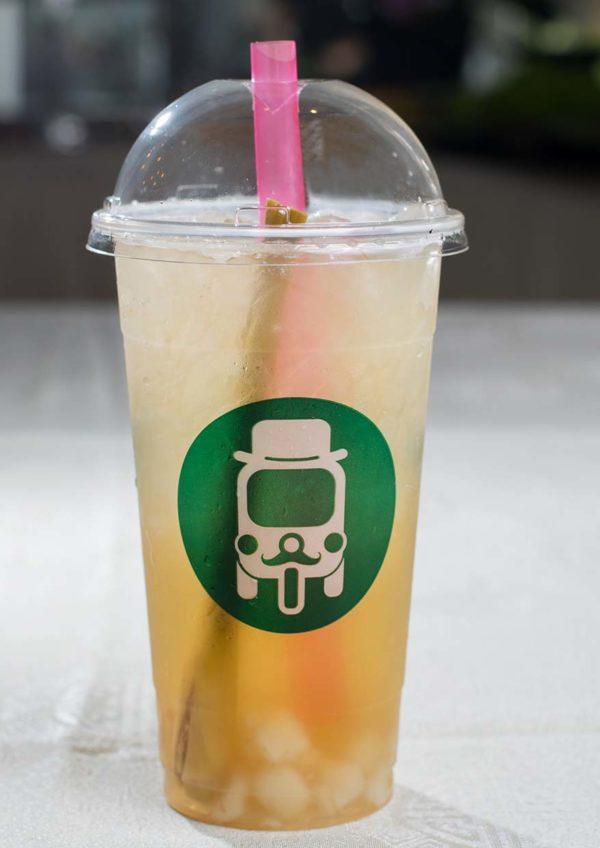 eat thai visit thailand campaign mr tuk tuk lemongrass tea