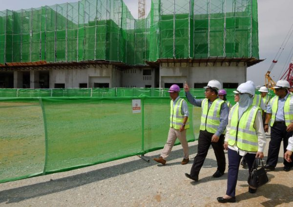 pkns selangorku idaman residensi cyber valley build site