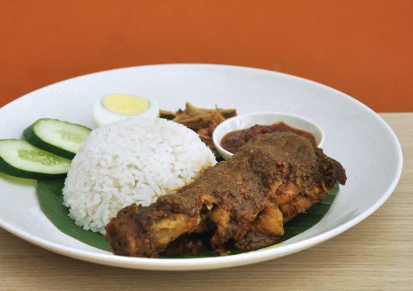 riz coconut nyonya restaurant kuchai lama kuala lumpur nasi lemak chicken rendang