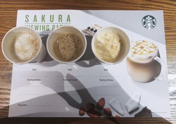 starbucks malaysia caramel macchiato different milks
